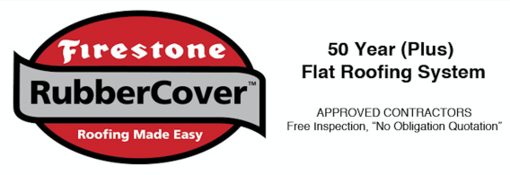 EPDM Firestone Rubber Flat Roof Homefront uk