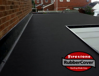 Rubber flat roof www.homefrontuk.co.uk