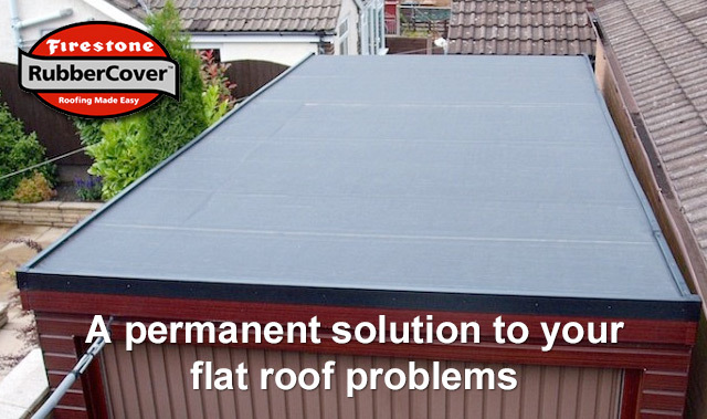 Firestone Epdm Rubber Flat Roofs Telford And Shropshire
