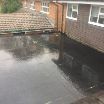 Rubber roofs Telford Shropshire